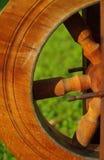 Закручивая колесо. стоковое фото rf
