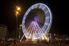 Закручивая колесо ferris Стоковые Изображения