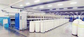 Закручивая машины в продукции Стоковая Фотография RF