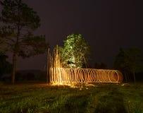 Закручивая пожар Стоковые Фотографии RF