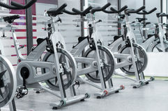 Закручивая bikes Стоковые Изображения RF