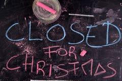 Закрыно для рождества стоковая фотография rf