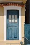 закрытая дверь деревянная Стоковая Фотография RF