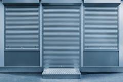 Закрытая дверь и Windows Стоковое фото RF