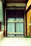 закрытая дверь стоковое изображение rf
