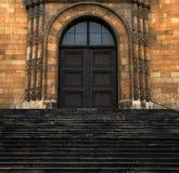 закрытая дверь Стоковые Фотографии RF