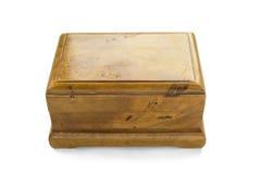 Деревянная коробка Стоковые Изображения