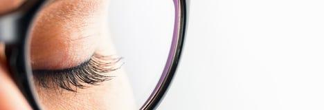 закрытая женщина глаза Стоковые Фото