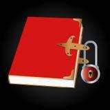 Закрытая книга иллюстрация штока