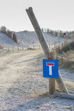 закрытая дорога Стоковые Фото
