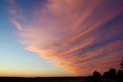 Закрытая половина неба Стоковое Изображение