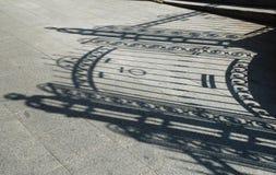 закрытая тень стробов Стоковое Фото