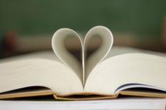Закрытая форма сердца стоковое фото