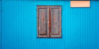 закрытое старое окно стоковое изображение rf