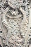Закрыто вверх по текстуре на stutue в pho wat Стоковая Фотография RF