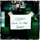 Закрыто Стоковое Изображение