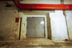 Закрытые двери лифта Стоковое Изображение RF