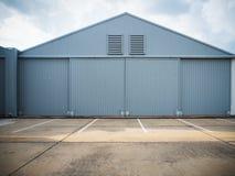 Закрытые двери склада Стоковые Изображения RF