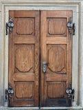 закрытые двери Стоковая Фотография