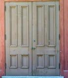 закрытые двери Стоковое Изображение RF