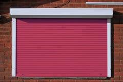 Закрытые красные штарки безопасностью Стоковое Изображение