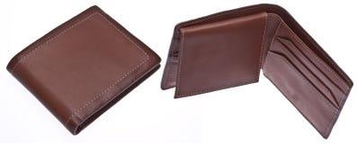 закрытые люди раскрывают бумажник s стоковое изображение