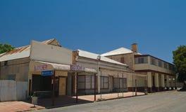 Закрытые магазины стоковое фото rf