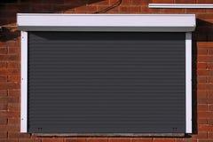 Закрытые черные штарки безопасностью Стоковые Фотографии RF