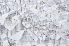 Закрытый вверх ледника Passu Пакистан Стоковые Изображения