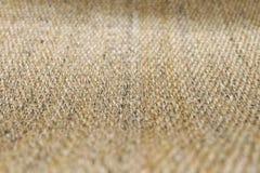 Закрытый вверх квадратной текстуры картины Weave корзины Стоковое Изображение RF