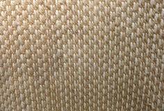 Закрытый вверх квадратной текстуры картины Weave корзины Стоковые Фото
