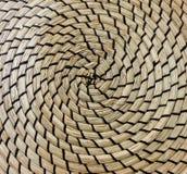 Закрытый вверх квадратной текстуры картины Weave корзины Стоковое Фото
