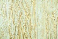 Закрытый вверх по коричневой бумаге шелковицы с предпосылкой древесины стоковые изображения rf