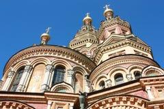 Закрытый вверх по красочной церков Стоковые Фото