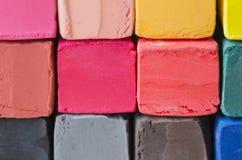 Закрытый вверх по красочному мелу для предпосылки Стоковое Фото