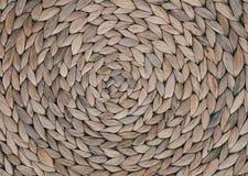 Закрытый вверх по текстуре картины Weave корзины Стоковое фото RF