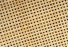 Закрытый вверх текстуры ротанга картины Weave корзины Стоковая Фотография