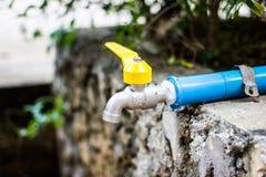 Закрытый водопроводный кран Стоковая Фотография