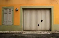 закрытый гараж двери Стоковые Изображения RF