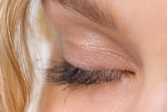 закрытый глаз Стоковое Изображение RF