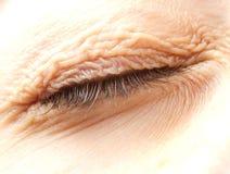 Закрытый глаз Стоковые Изображения RF