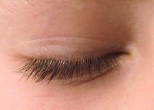 закрытый глаз Стоковая Фотография RF