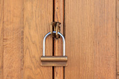 Закрытый деревянный объект Стоковое фото RF