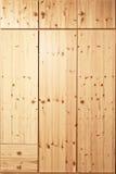 Закрытый деревянный шкаф Стоковые Фотографии RF