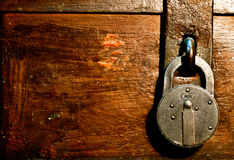 закрытый замок Стоковое Фото