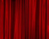 закрытый красный бархат Стоковая Фотография RF