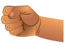 закрытый кулачок Стоковое Изображение RF