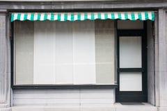 Закрытый магазин Стоковые Фото