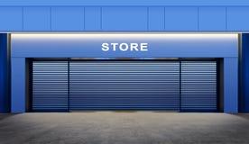 закрытый магазин Стоковые Фотографии RF