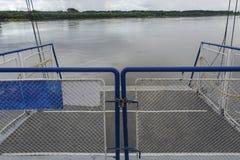 Закрытый мостк корабля Стоковое Изображение